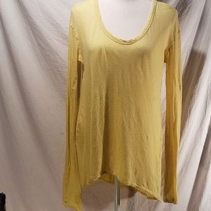 Wilt Drapey Hi low tunic top S light yellow